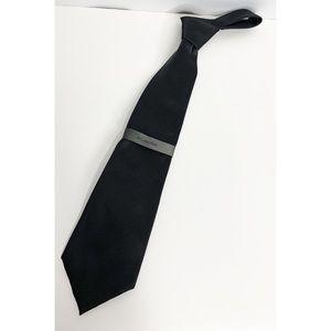 NEW black Calvin Klein tie